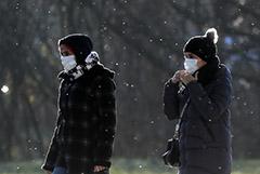 Москва не пострадала от ледяного дождя