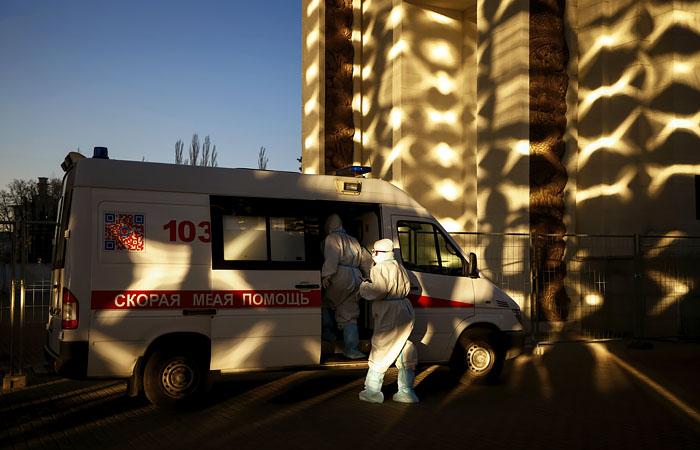 В России зарегистрировали рекордные 24 318 случаев COVID-19 за сутки