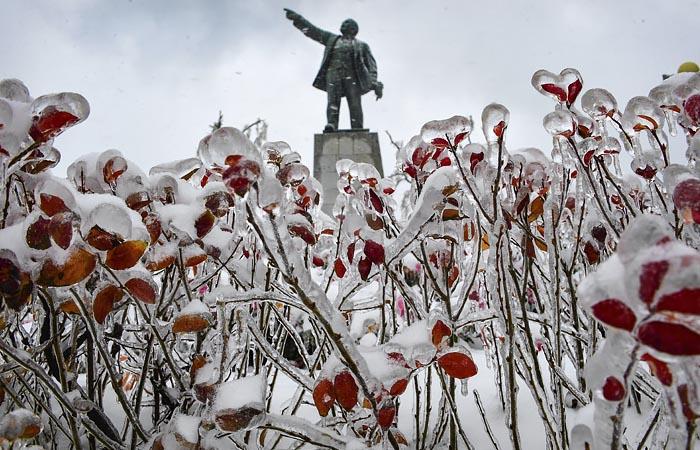 В Приморье ввели режим ЧС после ледяного дождя