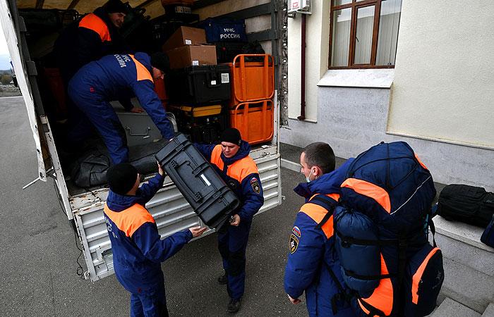 Первый российский гумконвой прибыл в Карабах