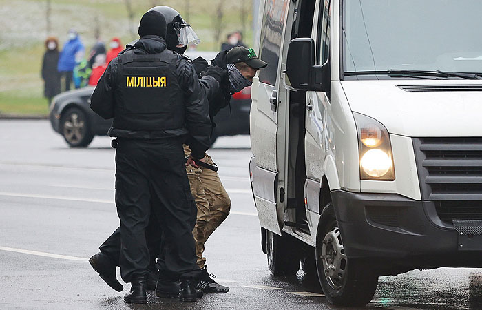 МВД Белоруссии подтвердило применение спецсредств на акциях в Минске