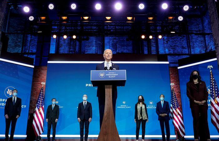 Байден лично представил ключевых сотрудников своей администрации