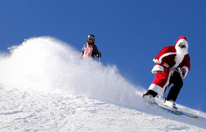 На горнолыжных курортах Франции на Рождество нельзя будет кататься