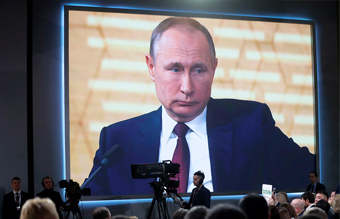 Большая пресс-конференция Путина пройдет 17 декабря