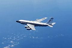 """Российский Су-27 """"перехватил"""" над Черным морем самолет-разведчик США"""