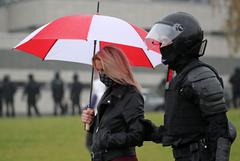 Воскресный Минск: водометы вместо диалога