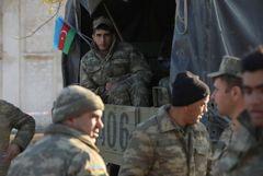 Азербайджанская армия вошла в Лачинский район в Карабахе