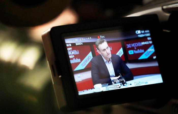 """Навального проверят на экстремизм после эфира на """"Эхе Москвы"""""""