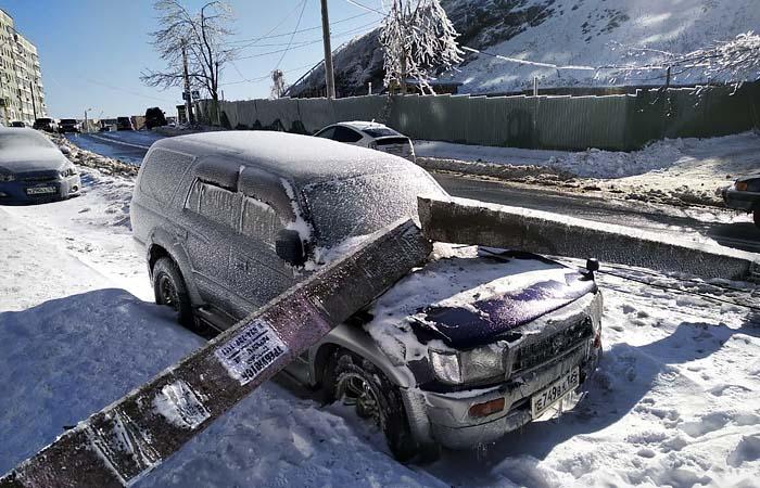 Ущерб от циклона в Приморье предварительно оценили в 1 млрд руб.