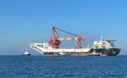 """Трубоукладчик """"Северного потока-2"""" начал возвращаться в порт меньше чем через сутки плавания"""