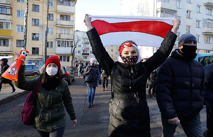 В Белоруссии задержали более ста участников протестов
