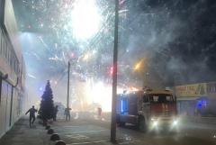 """Пожар на рынке в Ростове-на-Дону охватил три тысячи """"квадратов"""""""