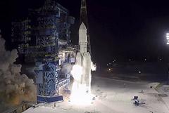 """Разгонный блок """"Бриз-М"""" вывел на орбиту макет полезной нагрузки """"Ангары"""""""