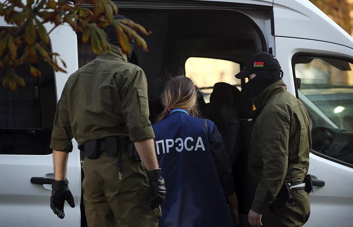 Эксперты насчитали рекордное число арестованных за 2020г. журналистов