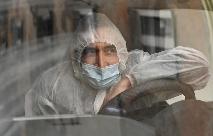 В России за сутки выявлено 26,5 тыс. новых заболевших коронавирусом