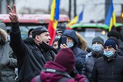 Протестующие в Кишиневе фермеры на тракторах выдвинули ультиматум