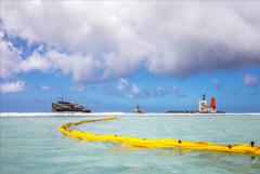 Разлив нефти у берегов Маврикия произошел по вине экипажа
