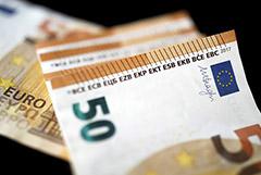 Евро превысил 91 руб. впервые с 3 декабря