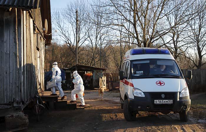 В России не обнаружили случаев британской мутации коронавируса