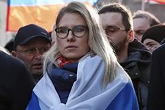 Любовь Соболь задержали на 48 часов после допроса
