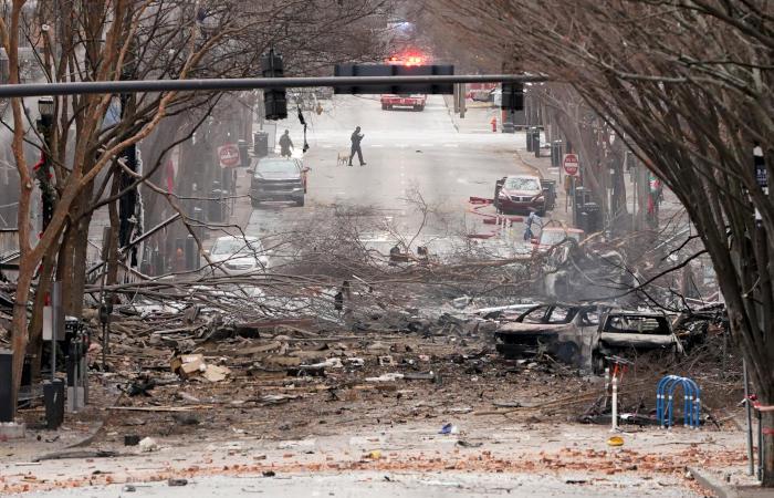 Полицейских предупредили о взрыве в Нэшвилле за 15 минут до него
