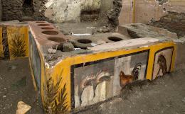 """Археологи нашли в Помпеях """"энергетический батончик"""""""