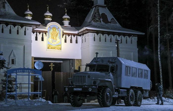 На мятежного схимонаха Сергия завели дело по трем статьям