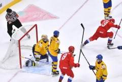 Россия в овертайме победила Швецию на молодежном ЧМ по хоккею
