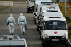 В России число случаев COVID-19 за сутки снова превысило 15 тысяч