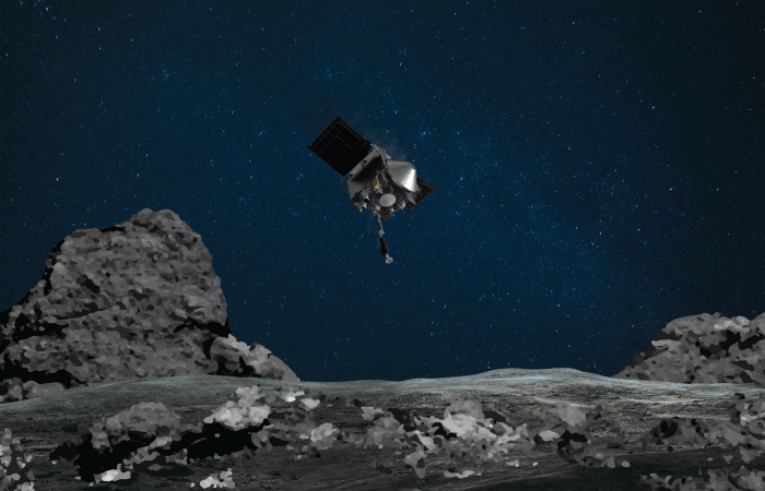 Переполненный грунтом Бенну космический зонд Osiris-Rex несмог закрыться