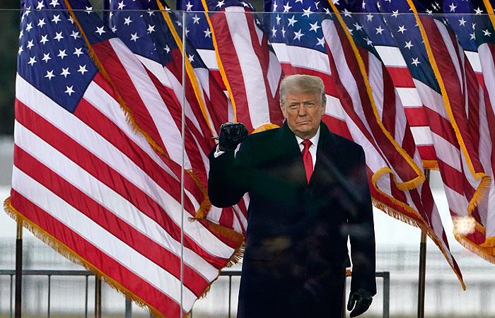Трамп заявил, что никогда не признает поражение на выборах президента