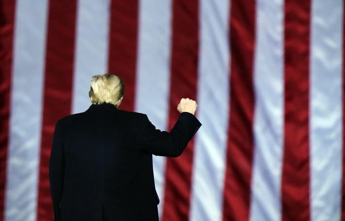Трамп обратился к протестующим в Капитолии