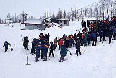 В Норильске объявили 10 января днем траура по погибшим под лавиной