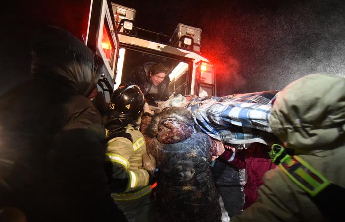 Тело женщины обнаружено под снежными завалами в Норильске