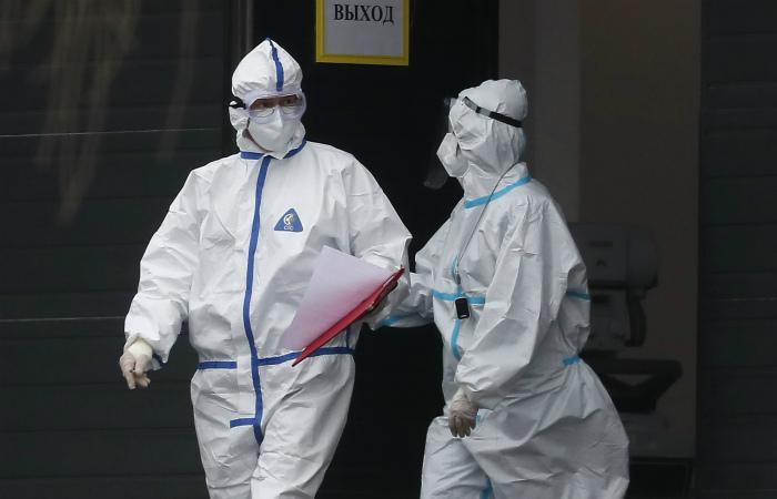 В России за сутки зарегистрировали еще 22 851 случай COVID-19