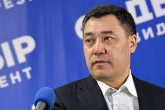 Жапаров побеждает на выборах президента Киргизии с более 80% голосов