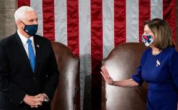 Пенс не будет ссылаться на 25-ю поправку для отстранения Трампа