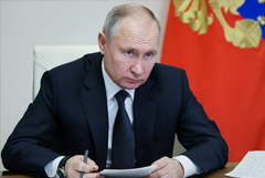 Путин призвал не расслабляться из-за снижения темпов заражения COVID