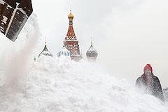 В Москве в ближайшие сутки выпадет еще около 7 см снега