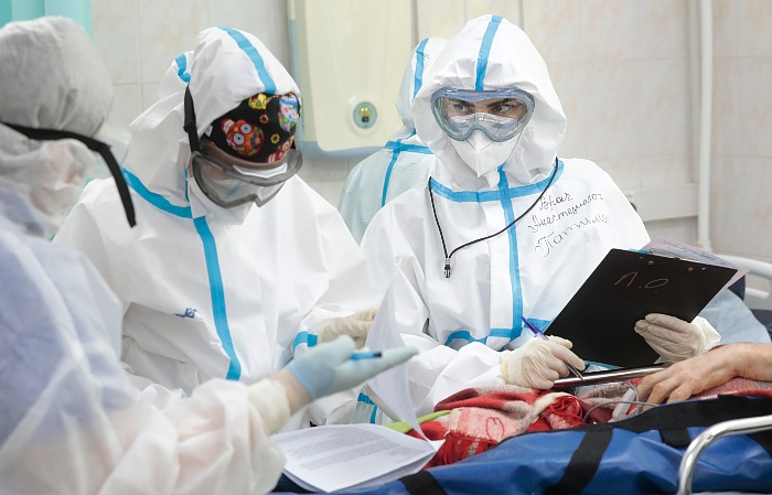 В России за сутки выявлено 24 тыс. новых случаев коронавируса