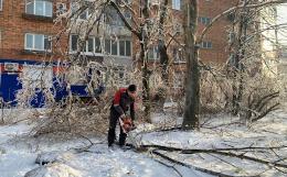 На острове Русском восстановили подачу электроэнергии после циклона