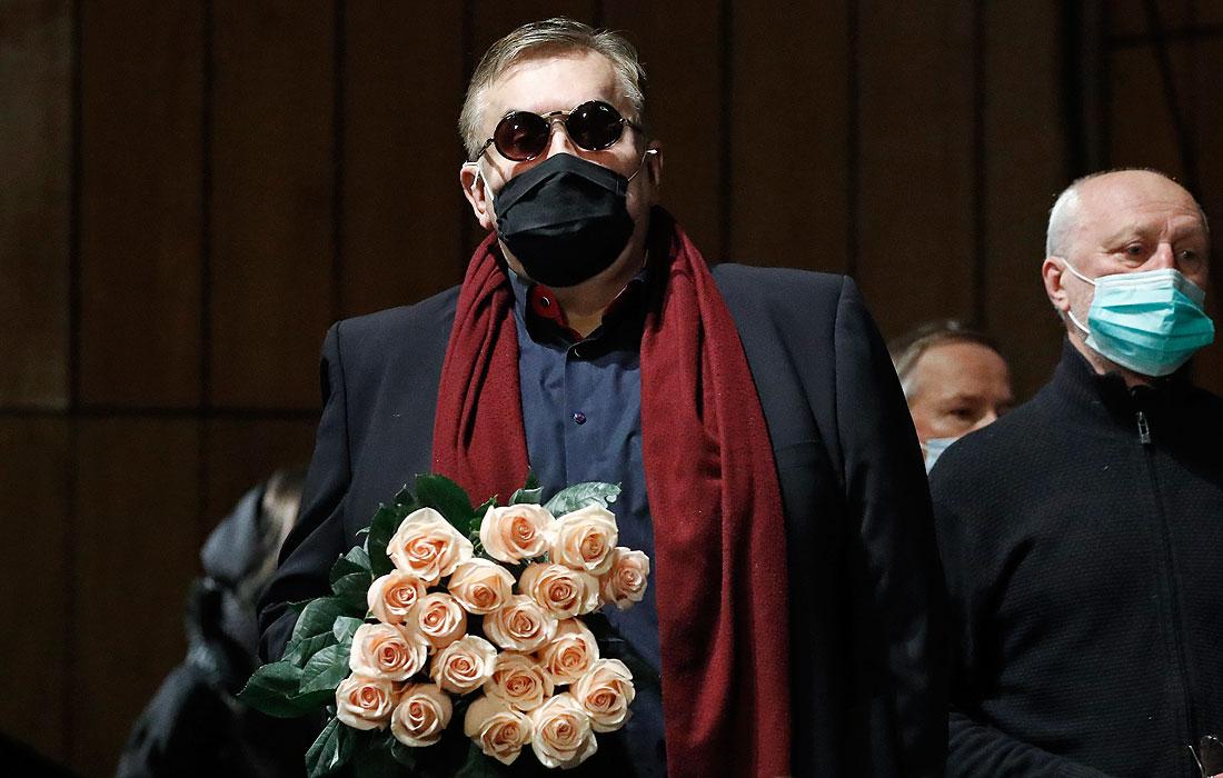 Актер Станислав Садальский (на первом плане)