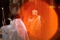 На крещенские богослужения пришли больше 100 000 москвичей