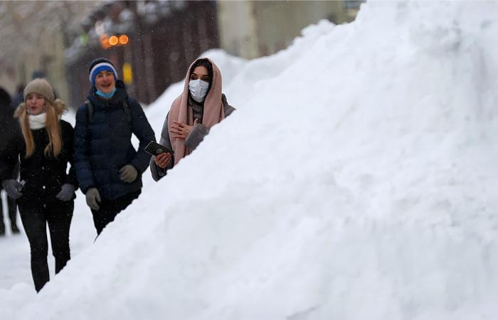 В Москве с 14 января выпало более половины месячной нормы осадков