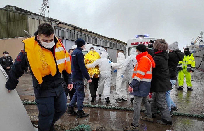 Найдены тела трех моряков с затонувшего у берегов Турции судна