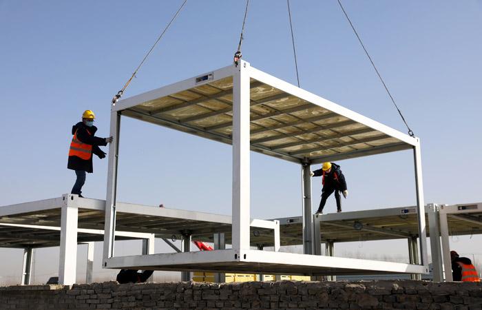 Китай завершает строительство крупного COVID-центра в провинции Хэбэй