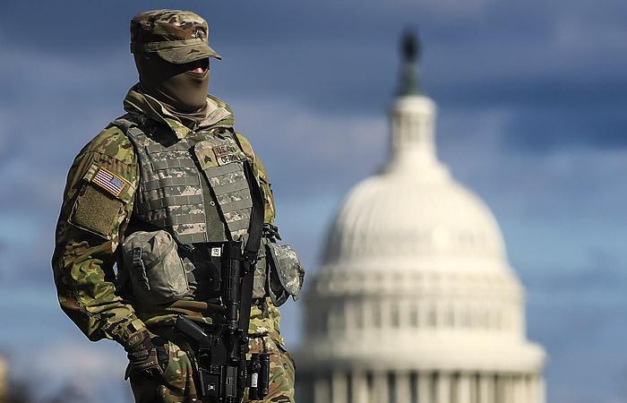 В Вашингтон прибыли 25 тысяч военных Нацгвардии накануне инаугурации