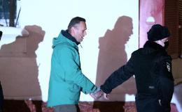 """Навального доставили в СИЗО """"Матросская тишина"""""""