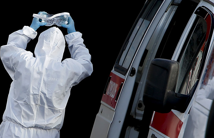 В России за сутки выявлено 21,1 тыс. новых заболевших коронавирусом