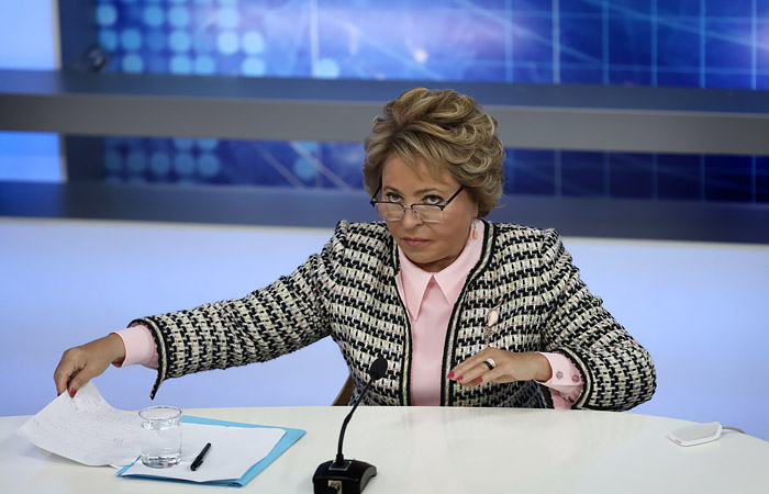"""Матвиенко назвала """"ковидные паспорта"""" источником раздражения людей"""
